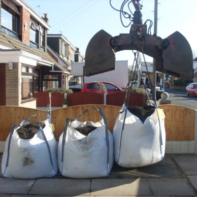 1 Tonne Bulk Bag Topsoil (£75 Per Bag)